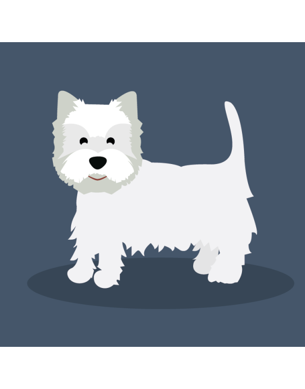 Camiseta West Highland White Terrier