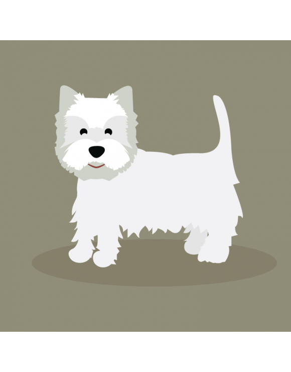 Camiseta mujer West Highland White Terrier